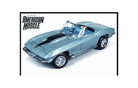 1967 コルベット L88 エルクハートブルー American Muscle 20th Anniversary (1/18 アメリカンマッスルAMM952)