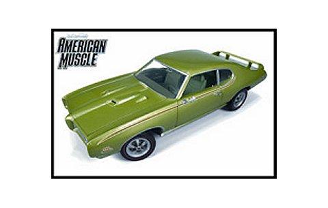 1969 ポンティアック GTO Judge グリーン American Muscle 20th Anniversary (1/18 アメリカンマッスルAMM960)