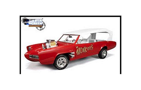 Monkee Mobile レッド/タン (1/18 アメリカンマッスルAMM957)