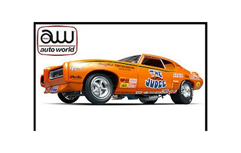 1969 ポンティアック GTO Super Judge Funny Car (1/18 アメリカンマッスルAMM970)