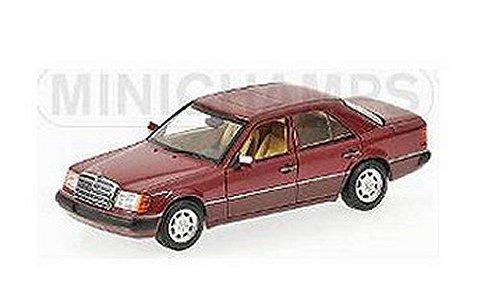 メルセデスベンツ 230E (W124) 1991 レッドM (1/43 ミニチャンプス400037001)