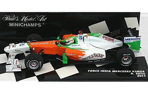 フォース インディア F1チーム VJM04 A・スーティル 2011 (1/43 ミニチャンプス410110014)