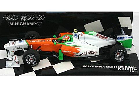 フォース インディア F1チーム VJM04 P・ディ.レスタ 2011 (1/43 ミニチャンプス410110015)
