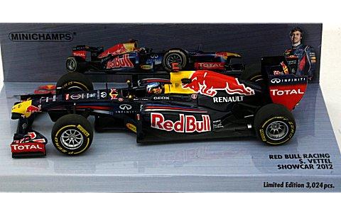 レッドブル レーシング S・ベッテル 2012 ショーカー (1/43 ミニチャンプス410120071)