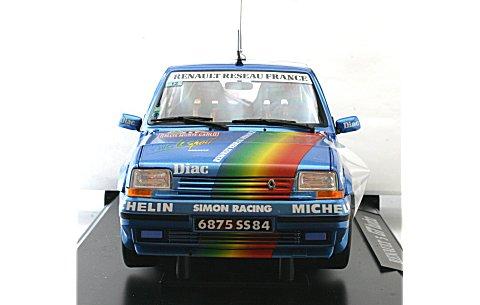 ルノー 5 GT ターボ 1990 モンテカルロラリー No11 (1/18 ノレブ185204)