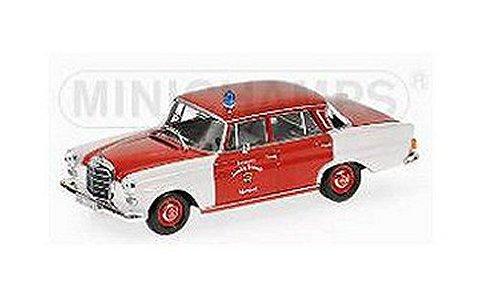メルセデスベンツ 200 1965 ショルンドルフ消防隊 (1/43 ミニチャンプス400037290)