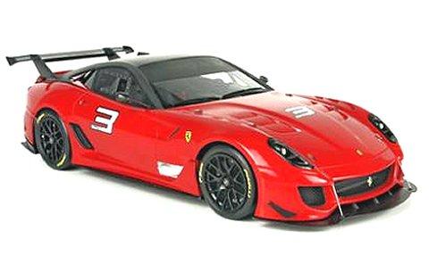 フェラーリ 599XX Evo ボローニャモーターショー 2011 レッド (1/18 BBR P1842)