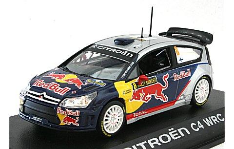 シトロエン C4 No8 WRC 2010 ラリー・スウェーデン No8 (1/43 ノレブ155432)
