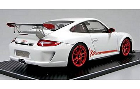 ポルシェ 911 (997) GT3 RS ホワイト (1/18 フロンティアートFA010-02)