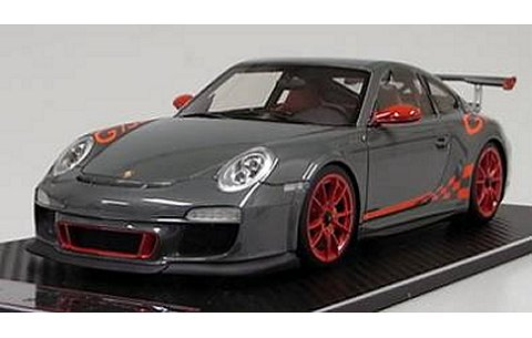 ポルシェ 911 (997) GT3 RS グレー (1/18 フロンティアートFA010-19)