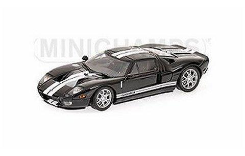 フォード GT 2006 ブラック (1/43 ミニチャンプス400084204)