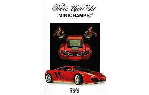 ミニチャンプス ミニカー 2012年総合カタログ エディション2 (ミニチャンプスPMAC20122)