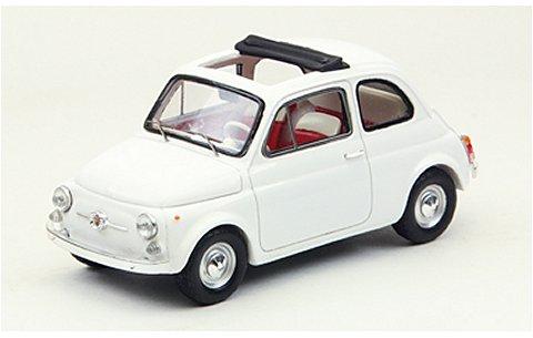 フィアット 500F 1965 ホワイト (1/43 エブロ44461)