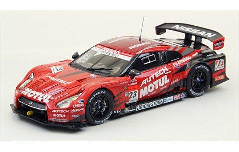 モチュール オーテック GT-R スーパーGT500 2012 No23 (1/43 エブロ44731)