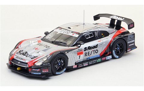 エスロード モーラ GT-R スーパーGT500 2012 No1 (1/43 エブロ44733)