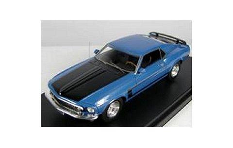 1969 フォード マスタング ボス 302 アカプルコブルーM (1/43 ハイウェイ61 HW43002)
