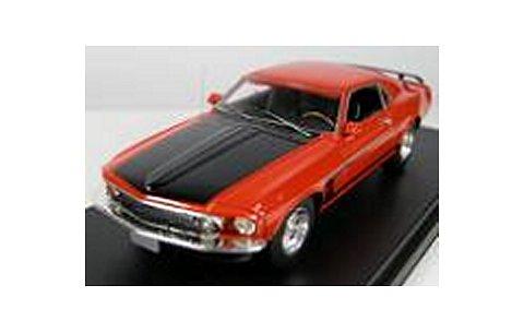 1969 フォード マスタング ボス 302 カリプソコーラルレッド (1/43 ハイウェイ61 HW43003)