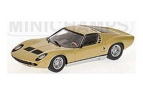 ランボルギーニ ミウラ S 1969 ゴールド (1/43 ミニチャンプス436103000)