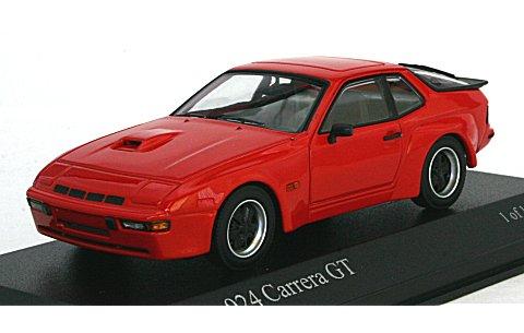 ポルシェ 924 カレラ GT 1981 レッド (1/43 ミニチャンプス400066120)