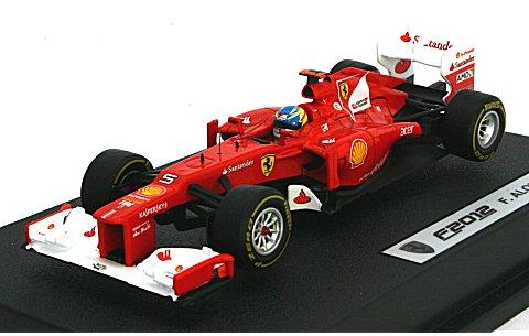 フェラーリ F2012 F・アロンソ ドライバー付 (1/43 マテルMT5522X)