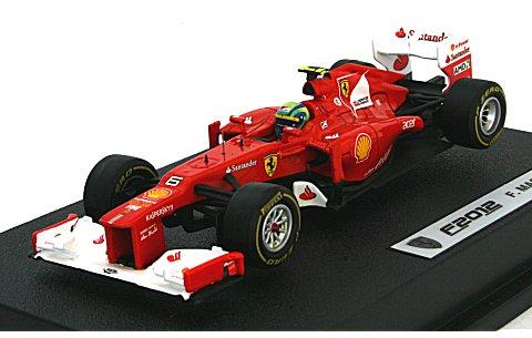 フェラーリ F2012 F・マッサ ドライバー付 (1/43 マテルMT5523X)