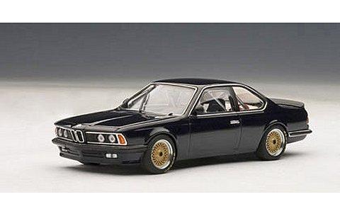 BMW 635 Csi プレーンボディ ダークブルー (1/43 オートアート68444)