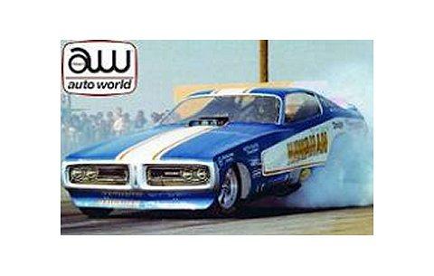 1971 Hawaiian Charge Funny Car ブルー (1/18 アメリカンマッスルAW1105)