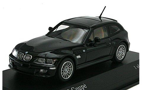 BMW Z3 クーペ 1999 ブラックM (1/43 ミニチャンプス400029020)