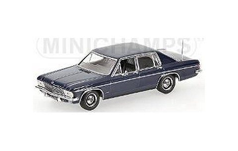 オペル カピテン 1969 ブルー (1/43 ミニチャンプス400046002)