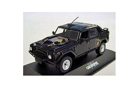 ランボルギーニ LM002 1984 ブラック CAR GRAPHIC (1/43 ミニチャンプス40P103373)