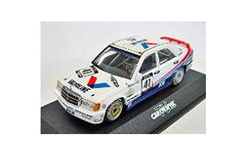 メルセデスベンツ 190E 2.3-16 「VALVOLINE」 ROLAND ASCH TEAM BMK MOTORSPORT DTM 1988 CAR GRAPHIC (1/43 ミニチャンプス40P883541)