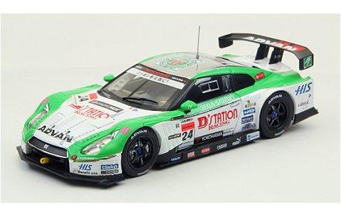 D'starion アドバン GT-R スーパーGT500 2012 No24 (1/43 エブロ44734)