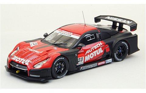 モチュール オーテック GT-R スーパーGT500 2012 ウインターテスト (1/43 エブロ44763)