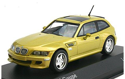 BMW M クーペ 1999 イエローM (1/43 ミニチャンプス400029060)