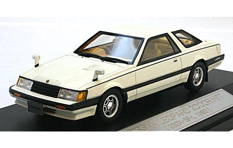 ニッサン レパード 2ドア H/T 280X・SF-L 1980 ホワイト (1/43 ハイストーリーHS060WH)