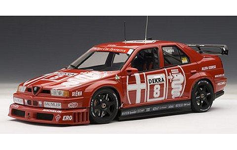 アルファロメオ 155 V6 TI DTM 1993 No8 開幕戦・ゾルダー優勝 (1/18 オートアート89303)