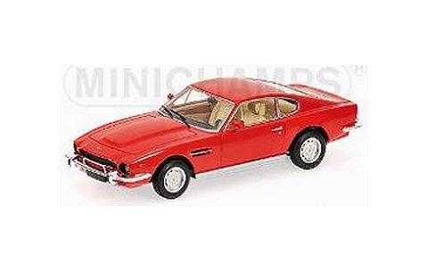 アストンマーチン V8 クーペ 1980 レッド (1/43 ミニチャンプス400137721)