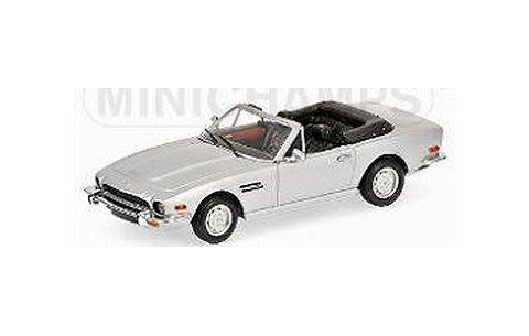 アストンマーチン V8 カブリオレ 1987 シルバー (1/43 ミニチャンプス400137731)
