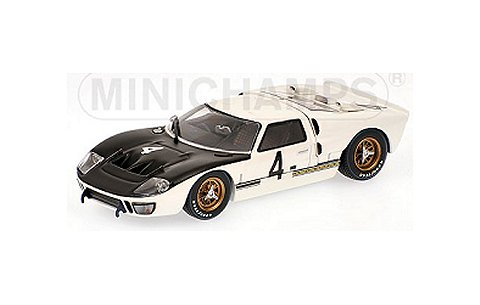フォード GT40 MKII No4 WHITMORE/GARDNER SPA 1000km 1966 (1/43 ミニチャンプス400668484)