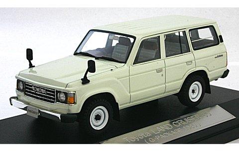 トヨタ ランドクルーザー 60 1980 ホワイト (1/43 ハイストーリーHS061WH)
