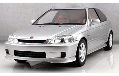 ホンダ シビック Type-R (EK9) シルバー (1/18 フロンティアートF015-01)