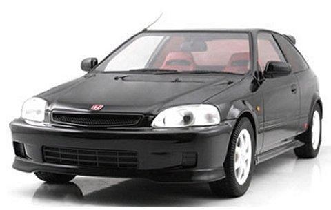 ホンダ シビック Type-R (EK9) ブラック (1/18 フロンティアートF015-04)