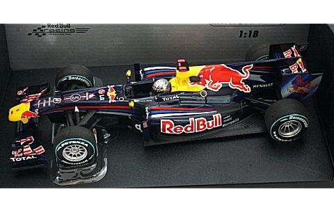 レッドブル レーシング ルノー RB6 S・ベッテル アブダビGP ワールドチャンピオン 2010 (1/18 ミニチャンプス110100105)