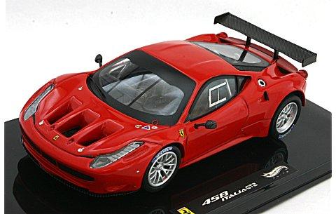 フェラーリ 458 Italia GT2 ランチバージョン レッド (1/43 マテルMT2861X)