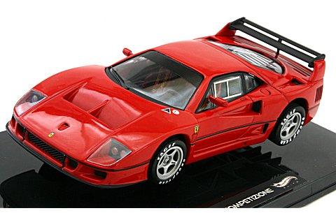 フェラーリ F40 コンペティション ランチバージョン レッド (1/43 マテルMT5507X)