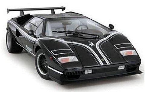 ランボルギーニ カウンタック LP500R ブラック (1/12 京商K08616BK)