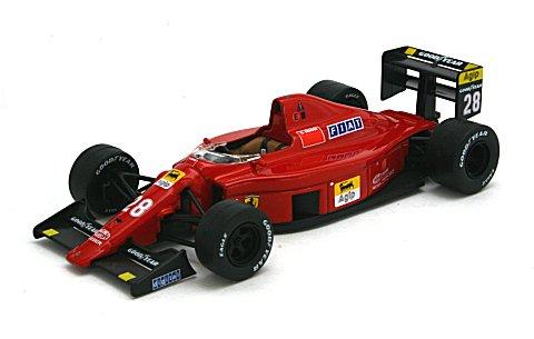 フェラーリ 640 F 189C No28 G・ベルガー ポルトガルGP 1989 (1/43 イクソSF30/89)