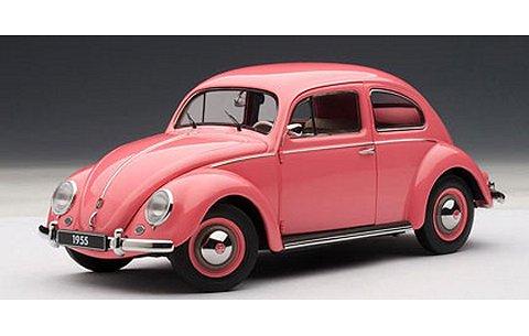 フォルクスワーゲン タイプ1 (ビートル) 1955 ピンク (1/18 オートアート79775)