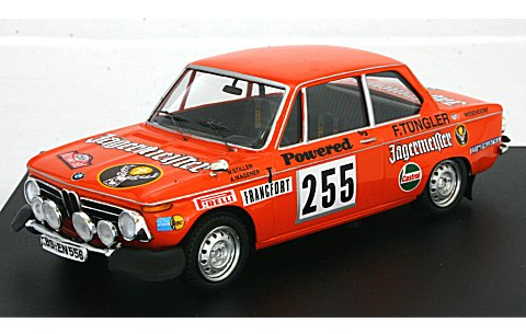 BMW 2002 Tii 1973 モンテカルロラリー (1/43 トロフュー1721)