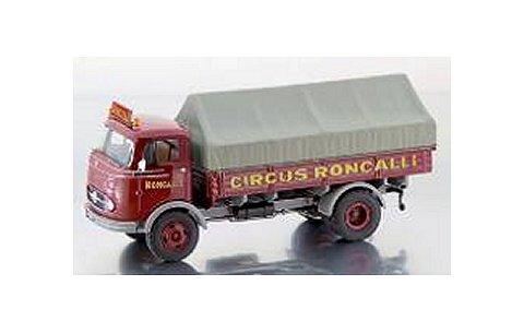 メルセデスベンツ LP911 幌付ピックアップトラック 「Roncalli」 (1/43 プレミアムクラシックスPCS12156)